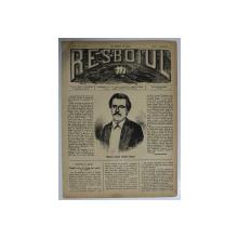 RESBOIUL  - ZIAR CU APARITIE ZILNICA , IN BUCURESTI , NR. 980   , JOI , 3 APRILIE  , 1880 , PREZINTA PETE