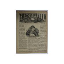 RESBOIUL  - ZIAR CU APARITIE ZILNICA , IN BUCURESTI , NR. 984   , LUNI , 7 APRILIE , 1880 , PREZINTA PETE