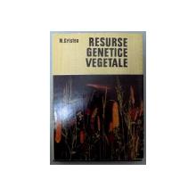 RESURSE GENETICE VEGETALE , 1981
