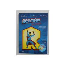 RETMAN SI RETMAGIA - DESEN ANIMATE PSIHOTERAPEUTICE de DANIEL DAVID ...MIHAI GOTIU , 2015 , CONTINE DVD *