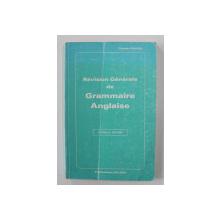 REVISION GENERALE DE GRAMMAIRE ANGLASIE par CLAUDE PICHON , NOUVELLE EDITION , 1986
