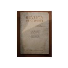 REVISTA BUCOVINEI , ANUL I , NR. 10 , OCTOMVRIE 1992 , Cernauti