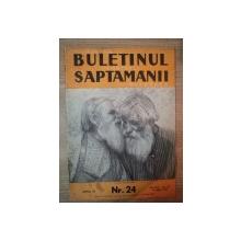 REVISTA ''BULETINUL SAPTAMANII'', ANUL II NR. 24, 14 AUGUST 1938