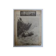 """REVISTA """" CARPATII """" - VANATOARE , PESCUIT , CHINOLOGIE , ANUL X - LEA , NO . 10 , 15 OCTOMBRIE  , 1942"""