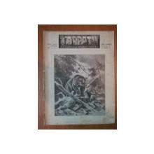 REVISTA CARPATII, VANATOARE, PESCUIT, CHINOLOGIE, ANUL X ,  15 IANUARIE CLUJ 1942, NR. 1