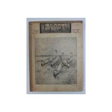 REVISTA CARPATII, VANATORE, PESCUIT, CHINOLOGIE, ANUL XII ,  15 APRILIE  CLUJ 1944, NR. 4