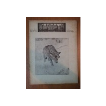 REVISTA CARPATII, VANATORE, PESCUIT, CHINOLOGIE, ANUL XIII ,  15 NOIEMBRIE - DECEMBRIE  CLUJ 1945, NR. 11 - 12