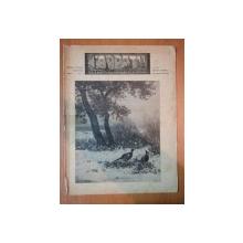 REVISTA CARPATII, VANATOARE, PESCUIT, CHINOLOGIE, ANUL XV ,  15 IANUARIE  CLUJ 1947, NR. 1