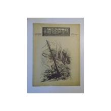 REVISTA CARPATII, VANATORE, PESCUIT, CHINOLOGIE, ANUL XV ,  15 IULIE - AUGUST CLUJ 1947, NR. 7 - 8