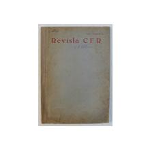 REVISTA C.F.R.  - NR.  3 - 10  , MARTIE  - OCTOMVRIE  , 1944