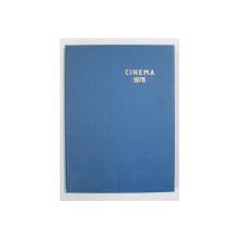 REVISTA ' CINEMA ' , COLEGAT DE 12  NUMERE , AN COMPLET , 1978