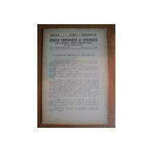 REVISTA CRONICA NUMISMATICA SI ARHEOLOGICA , ANUL XIII , NR. 112 , OCTOMVRIE - DECEMVRIE 1938 , Bucuresti 1938