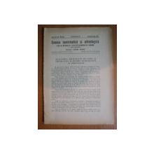REVISTA CRONICA NUMISMATICA SI ARHEOLOGICA , ANUL XIX , NR. 133 - 134   , IANUARIE - IUNIE  1945 , Bucuresti 1945