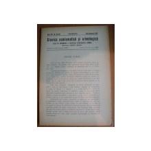 REVISTA CRONICA NUMISMATICA SI ARHEOLOGICA , ANUL XVI , NR. 123 - 124  ,  IULIE - DECEMVRIE  1942 , Bucuresti 1942