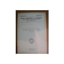 REVISTA CRONICA NUMISMATICA SI ARHEOLOGICA , ANUL XVII , NR. 127 - 128 , IULIE - DECEMBRIE 1943 , Bucuresti 1943