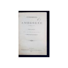 REVISTA CURIERUL DE AMBE-SEXE VOL. VI de I. HELIADE RADULESCU - BUCURESTI, 1893