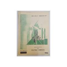 REVISTA DE CULTURA ARMEANA , ANUL II , VOL. II , APRILIE- IUNIE 1937 , Bucuresti