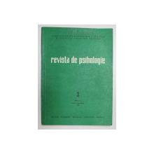 REVISTA DE PSIHOLOGIE , TOMUL 23 , NR. 3 , IULIE - SEPTEMBRIE , 1977