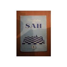 REVISTA DE SAH , ANUL XIII , NR. 1 , Bucuresti 1962