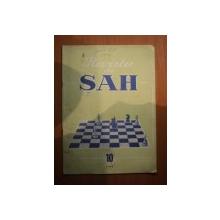 REVISTA DE SAH , ANUL XIII , NR. 10 , Bucuresti 1962
