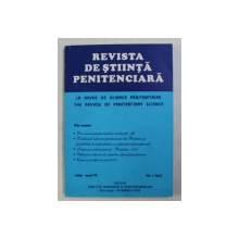 REVISTA DE STIINTA PENITENCIARA , ANUL VI , NR . 1 / 21 , 1995