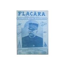"""REVISTA  """" FLACARA LITERARA  - ARTISTICA  - SOCIALA """" ANUL 1915 , DE LA NR. 12 - 13 IANUARIE , ANUL IV , PANA LA  NR. 11 , ANUL V , LEGATE IMPREUNA , 1915"""