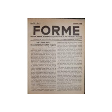 REVISTA FORME -BUC. 1940