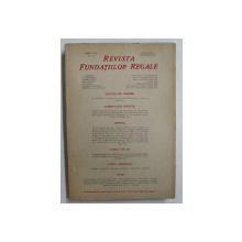 REVISTA FUNDATIILOR REGALE , ANUL XIII , NR. 12 , SERIE NOUA , DECEMBRIE 1946