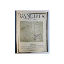 """REVISTA """" GANDIREA """" ,  ANUL II  ( COMPLET ) , COLEGAT DE 17 NUMERE  APARUTE INCEPAND CU 15 APRILIE , 1922"""