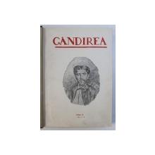 """REVISTA """" GANDIREA """" -  ANUL IX ( COMPLET ) ,  COLEGAT DE 12 NUMERE"""