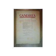 REVISTA GANDIREA ANUL XXII , NR 10 , DECEMBRIE 1943