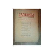 REVISTA GANDIREA ANUL XXII , NR 7 , AUGUST-SEPTEMBRIE 1943