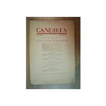 REVISTA GANDIREA ANUL XXIII , NR 1 , IANUARIE 1944