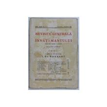 REVISTA GENERALA A INVATAMANTULUI , ANUL XXIX , NR. 7 - 8 , SEPTEMBRIE - OCTOMBRIE , 1941