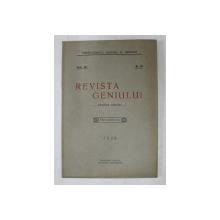 REVISTA GENIULUI  - REVISTA LUNARA , ANUL XII , NR.10 , OCTOMBRIE ,1929