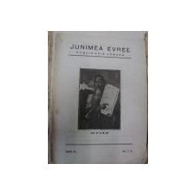 REVISTA JUNIMEA EVREE,ANUL 4 1925 NUMERELEI 7-8