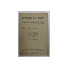 REVISTA LITERARA A COLEGIUL NATIONAL  SF. SAVA - LICEU DE BAIETI , ANUL VI , NO. 1 , DECEMBRIE , 1931