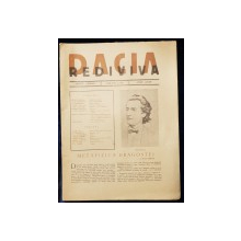 "REVISTA LITERARA ""DACIA REDIVIVA"" - 1942"