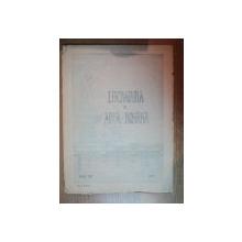 REVISTA LITERATURA SI ARTA ROMANA , APARE LA 25 ALE FIECAREI LUNI ( AFARA DE IUNIE , IULIE SI AUGUIST ) , ANUL XIV , NR. 1 , 2 , 3 , 1910