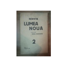 REVISTA LUMEA NOUA - MIHAIL MANOILESCU , ANUL V FEBRUARIE 1936 , NR. 2