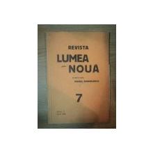 REVISTA LUMEA NOUA - MIHAIL MANOILESCU , ANUL V IUNIE 1936 , NR. 7