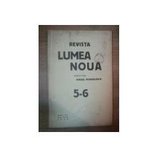 REVISTA LUMEA NOUA - MIHAIL MANOILESCU , ANUL VIII MAI-IUNIE 1938 , NR. 5-6