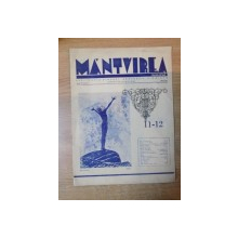 REVISTA ''MANTUIREA NOASTRA'', ANUL III, SERIA II, NR. 11-12