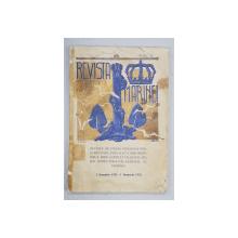 Revista Marinei, Anul VI, 1 Ianuarie 1931 - 1 Ianuarie 1932