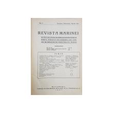 REVISTA MARINEI, NO. 1, IANUARIE, FEBRUARIE, MARTIE 1927 - BUCURESTI, 1927