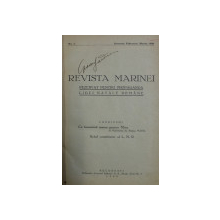 REVISTA MARINEI , NR. 1 , IANUARIE , FEBRUARIE , MARTIE , 1928 / , NR. 2 , APRILIE , MAI , IUNIE 1928 , COLEGAT *