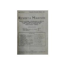 REVISTA MARINEI  - REVISTA DE STUDII , INFORMATIUNI SI RECENZII DE MARINA, ANUL IV ,  INTEGRAL , COLEGAT DE 4 NUMERE , APARE TRIMESTRIAL , IANUARIE - DECEMBRIE 1929