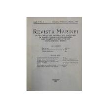 REVISTA MARINEI  - REVISTA DE STUDII , INFORMATIUNI SI RECENZII DE MARINA, ANUL V ,  INTEGRAL , COLEGAT DE 4 NUMERE , APARE TRIMESTRIAL , IANUARIE - DECEMBRIE 1930