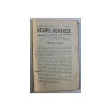 REVISTA ' NEAMUL ROMANESC ' , FOAIA NATIONALISTILOR  - DEMOCRATI , AN COMPLET 1910 , COLEGAT DE 52 DE NUMERE APARUTE INTRE 3 IANUARIE - 26 DECEMBRIE , 1910