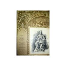 REVISTA NOUA SCOASA DE B.P. HASDEU -DE  ANUL I NR.1  -1868